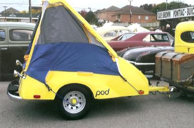 Orca POD Trailer With Camping Package